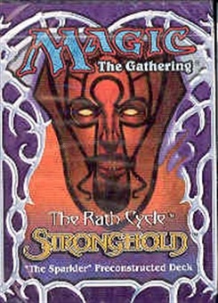 Magic the Gathering Stronghold The Sparkler Precon Theme Deck