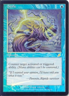 Magic the Gathering Scourge Single Stifle Foil - SLIGHT PLAY (SP)