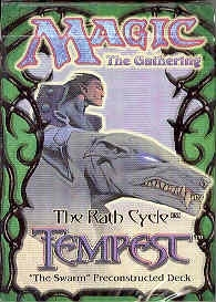 Magic the Gathering Tempest The Swarm Precon Theme Deck