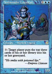 Magic the Gathering Torment Single Ambassador Laquatus - NEAR MINT (NM)