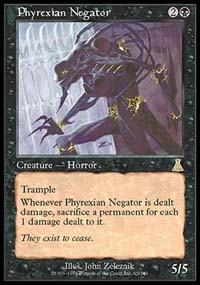 Magic the Gathering Urza's Destiny Single Phyrexian Negator - NEAR MINT (NM)