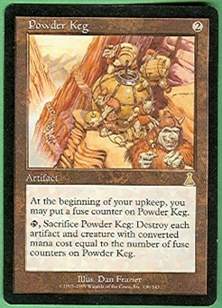 Magic the Gathering Urza's Destiny Single Powder Keg Foil