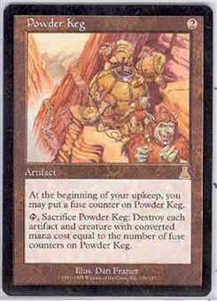 Magic the Gathering Urza's Destiny Single Powder Keg - NEAR MINT (NM)