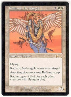 Magic the Gathering Urza's Legacy Single Radiant, Archangel UNPLAYED (NM/MT)