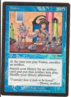 Magic the Gathering Urza's Legacy Single Tinker Foil