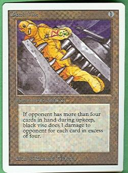 Magic the Gathering Unlimited Single Black Vise - NEAR MINT (NM)
