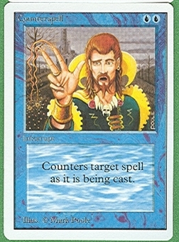 Magic the Gathering Unlimited Single Counterspell - NEAR MINT (NM)
