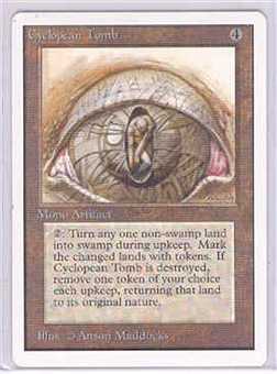 Magic the Gathering Unlimited Single Cyclopean Tomb - NEAR MINT (NM)