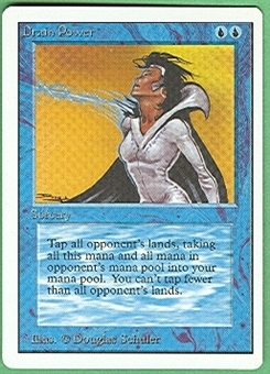 Magic the Gathering Unlimited Single Drain Power - NEAR MINT (NM)