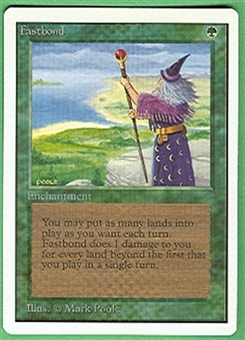 Magic the Gathering Unlimited Single Fastbond - NEAR MINT (NM)