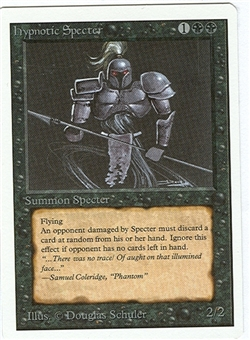 Magic the Gathering Unlimited Single Hypnotic Specter - NEAR MINT (NM)