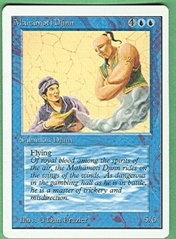 Magic the Gathering Unlimited Single Mahamoti Djinn - NEAR MINT (NM)