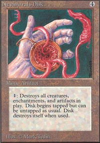 Magic the Gathering Unlimited Single Nevinyrral's Disk - NEAR MINT (NM)