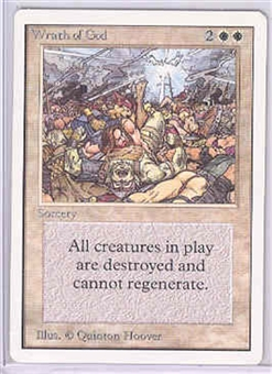 Magic the Gathering Unlimited Single Wrath of God - NEAR MINT (NM)