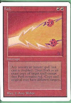 Magic the Gathering Unlimited Single Fork - NEAR MINT (NM)