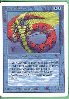 Magic the Gathering Unlimited Single Lord of Atlantis UNPLAYED (NM/MT)