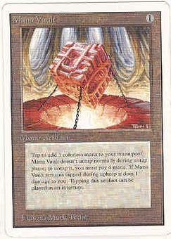 Magic the Gathering Unlimited Single Mana Vault - SLIGHT PLAY (SP)