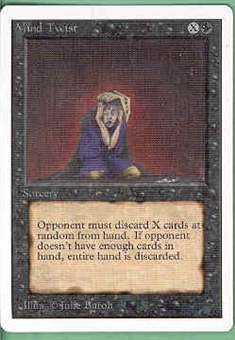 Magic the Gathering Unlimited Single Mind Twist - NEAR MINT (NM)