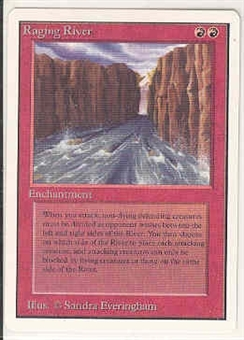 Magic the Gathering Unlimited Single Raging River UNPLAYED (NM/MT)
