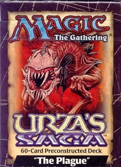 Magic the Gathering Urza's Saga The Plague Precon Theme Deck