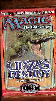 Magic the Gathering Urza's Destiny Booster Pack
