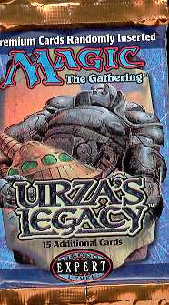 Magic the Gathering Urza's Legacy Booster Pack