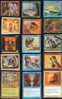 Magic the Gathering Urza's Saga A Complete Set LIGHT PLAY