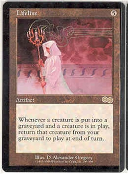 Magic the Gathering Urza's Saga Single Lifeline UNPLAYED (NM/MT)