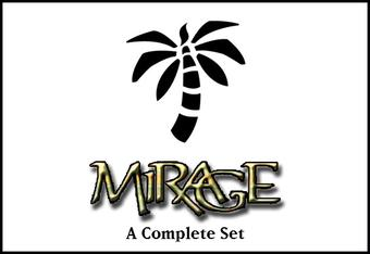 Magic the Gathering Mirage A Complete Set - NEAR MINT/SLIGHT PLAY (NM/SP)