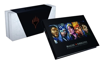 Magic the Gathering 2015 Comic Con Magic Origins Planeswalker Set W/ Hard Cover Book