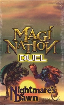 Interactive Imagination Magi-Nation Duel Nightmare's Dawn Booster Box