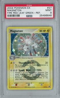 Pokemon EX Fire Red Leaf Green Magneton 27/112 Holo Rare PSA 9