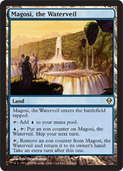 Magic the Gathering Zendikar Single Magosi, the Waterveil - NEAR MINT (NM)