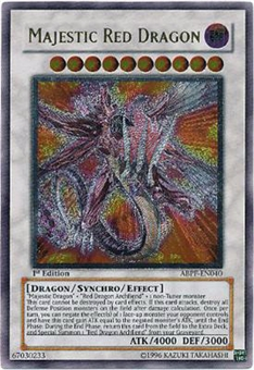 Yu-Gi-Oh Absolute Powerforce Single Majestic Red Dragon Ultimate Rare