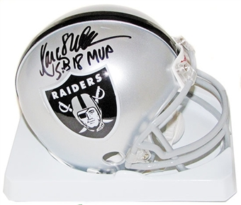 Marcus Allen Autographed Los Angeles Raiders Mini Helmet