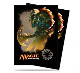 Ultra Pro Magic White Mana Ajani Standard Sized Deck Protectors (Case of 6000 Sleeves)