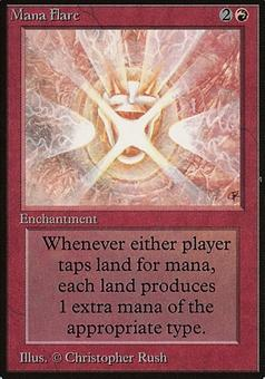 Magic the Gathering Beta Single Mana Flare - SLIGHT PLAY (SP)