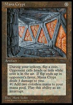 Magic the Gathering Promo Single Mana Crypt - NEAR MINT (NM)