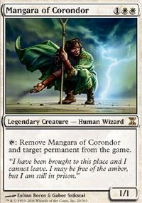 Magic the Gathering Time Spiral Single Mangara of Corondor - SLIGHT PLAY (SP)