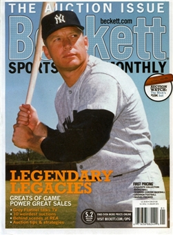 2013 Beckett Sports Card Monthly Price Guide (#334 January) (Mickey Mantle)