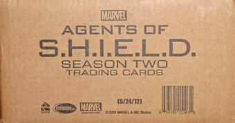 Marvel Agents of S.H.I.E.L.D. Season Two Trading Cards 12-Box Case (Rittenhouse 2015)