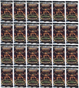 World of Warcraft March of the Legion Booster Pack (Lot of 24)