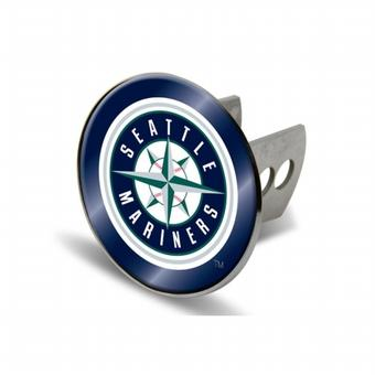 "Seattle Mariners Rico Industries 4 "" Laser Trailer Hitch Cover"