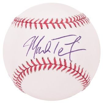 Mark Teixeira Autographed New York Yankees Official Major League Baseball (PSA)