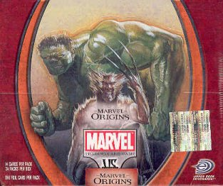 Vs System Marvel Origins 1st Edition Booster Box
