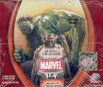 Vs System Marvel Origins Booster Box