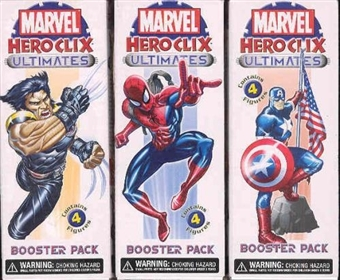 WizKids HeroClix Marvel Ultimates 48 ct. Booster Case #WZK3204