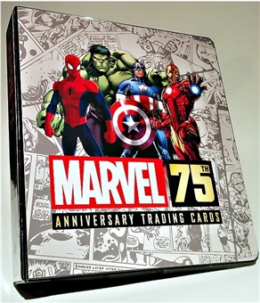 Marvel 75th Anniversary Trading Cards Album/Binder