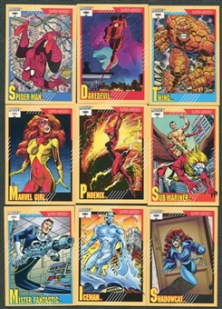 Marvel Universe 162 Card Series 2 Set 1991 Impel
