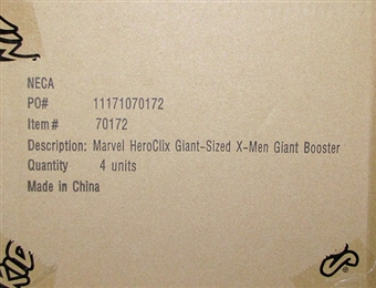 HeroClix Marvel Giant-Sized X-Men Super Booster Case (4 Ct.)